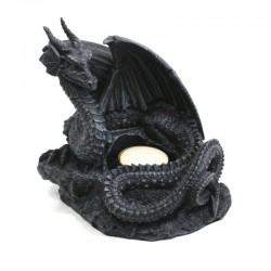 Bougeoir Dragon Ailes Ouvertes