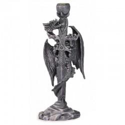 Bougeoir Dragon Epée - 16 cm