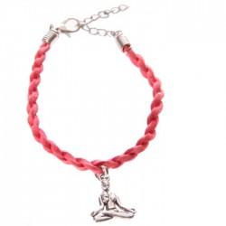 Bracelet Tête de Bouddha Thaï - Faux Cuir