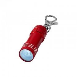 Porte-clés lampe torche à Leds (rouge)