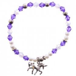 Bracelet Licorne Bleue