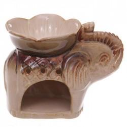 Brûleur A Huile Céramique Eléphant
