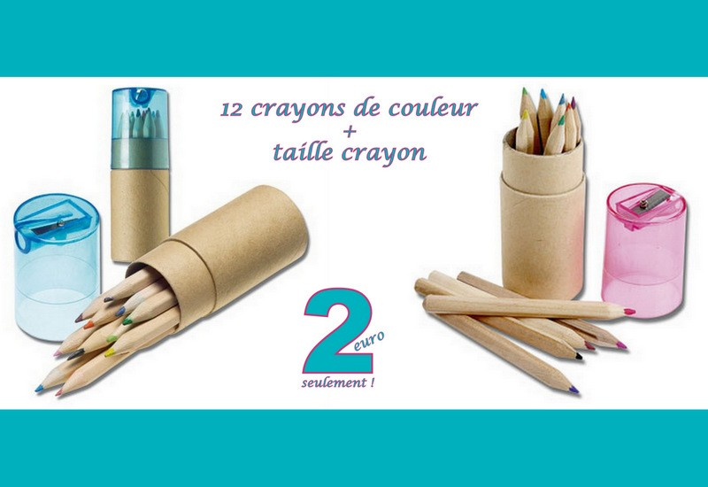 Tube Duo Crayons