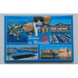 Magnet Bisous de Marseille