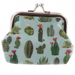 Porte-Monnaie Cactus