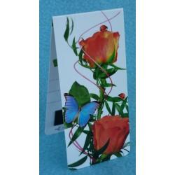 Papillon Roses Coccinelle