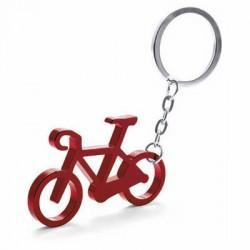 Porte-Clés Métal Vélo Rouge