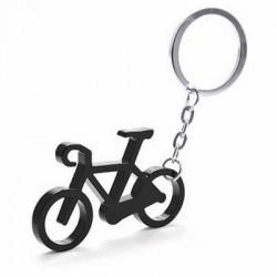 Porte-Clés Métal Vélo Noir