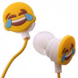 Ecouteurs Smiley Emoti Mort de Rire