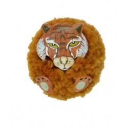 Magnet Pompon Tigre Bois