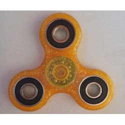 Hand Spinner Pailletté Orange