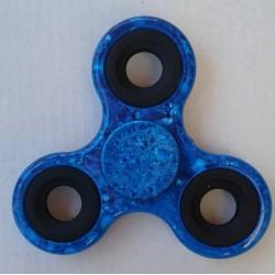 "Hand Spinner ""Marbré"" Bleu"