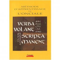 Livre Méthode d'Apprentissage de Calligraphie Onciale