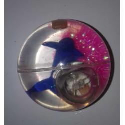 Balle Rebondissante Lumineuse Dauphin (Rose)