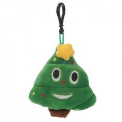 Porte-clés Moelleux Emoti Sapin Etoile Noël avec Son