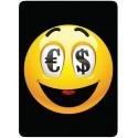 Sticker Cleaner Smiley Emoti Dollar
