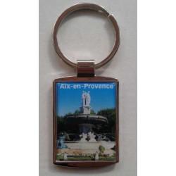 """Porte-Clés Métal Aix en Provence """"La Rotonde"""""""