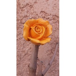 Magnet Rose Jaune