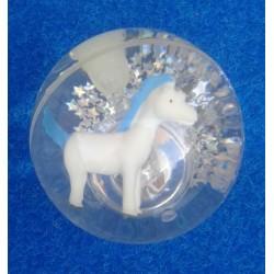 Balle Rebondissante Lumineuse Licorne (Bleu)