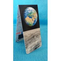 Marque Page Magnétique Terre Lune