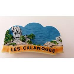 Magnet Résine Les Calanques 02