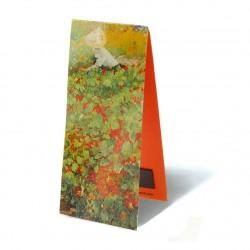 """Marque Page Magnétique """"Le Jardin"""" de Jacobus Van Looy"""