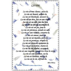"Chif' Fou' Net Poème sur ""La Vie"""