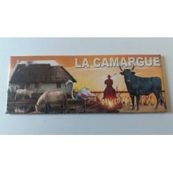 Magnet Panoramique Camargue Couché de Soleil