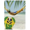Sticker Cleaner Brésil Hamac