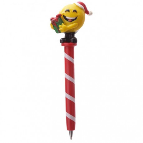 Stylo Smiley Emoti Noël Cadeau