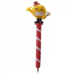 Stylo Smiley Emoti Noël Cloche