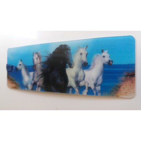 Marque Page 3D Chevaux