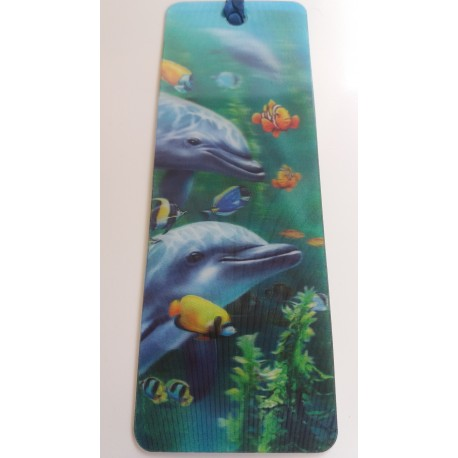 Marque Page 3D Dauphins