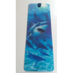 Marque Page 3D Requin