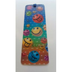 Marque Page 3D Smiley Emoti Langue
