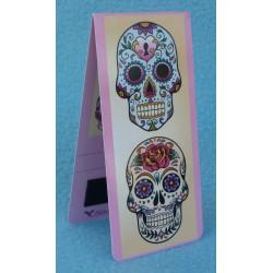 Marque Page Magnétique Jour des Morts Mexicains