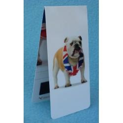 Marque Page Magnétique Chien Bulldog GB