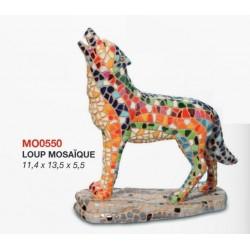 Loup Mosaïque