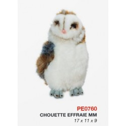 Peluche Chouette Effraie