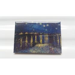 Magnet Van Gogh Nuit Etoilé sur le Rhône