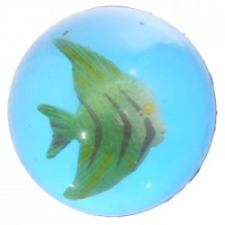 Balle Rebondissante Poissons Tropicaux 5