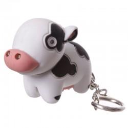 Porte-Clés Lumineux et Sonore Vache