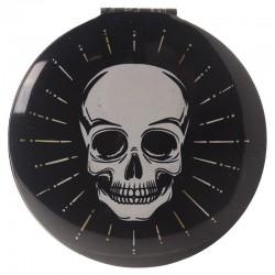 Miroir Noir Crâne