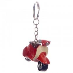 Porte-Clés Scooter Vespa Rouge