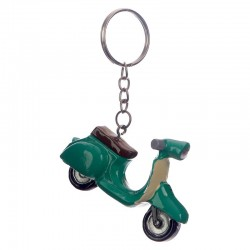 Porte-Clés Scooter Vespa Vert