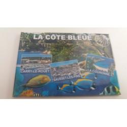 Magnet La Côte Bleue - Poissons