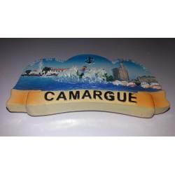 Magnet Résine Camargue - Grau du Roi - Aigues Mortes