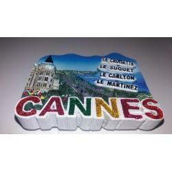 Magnet Résine Cannes