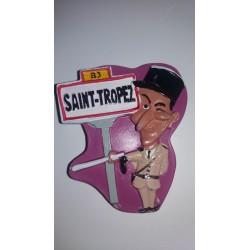 Magnet Résine Saint Tropez Gendarme