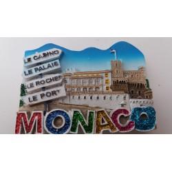 Magnet Résine Monaco